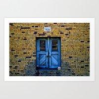 Blue Door 64 Art Print