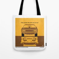 No207 My The Fast and the Furious minimal movie poster Tote Bag