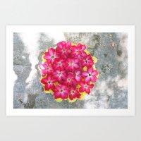 The Floweress Art Print