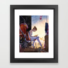 The Understudy Framed Art Print