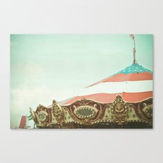 At The Carnival Canvas Print