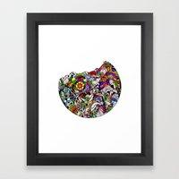 Verás El Mundo Según T… Framed Art Print