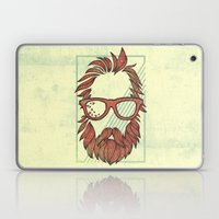 Beard And Shades Laptop & iPad Skin