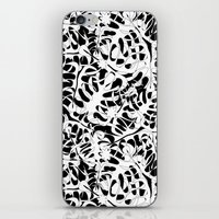 My White Leaves iPhone & iPod Skin