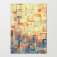 Canvas Print featuring Cubism Dream (Brush Fire… by Jacqueline Maldonado