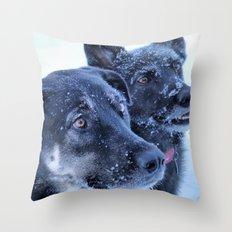 2 is better Throw Pillow