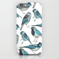 pale green birds Slim Case iPhone 6s