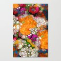 Many Colors Canvas Print