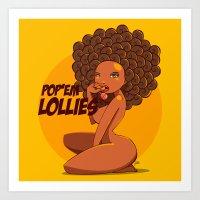 Afrodisiac Art Print
