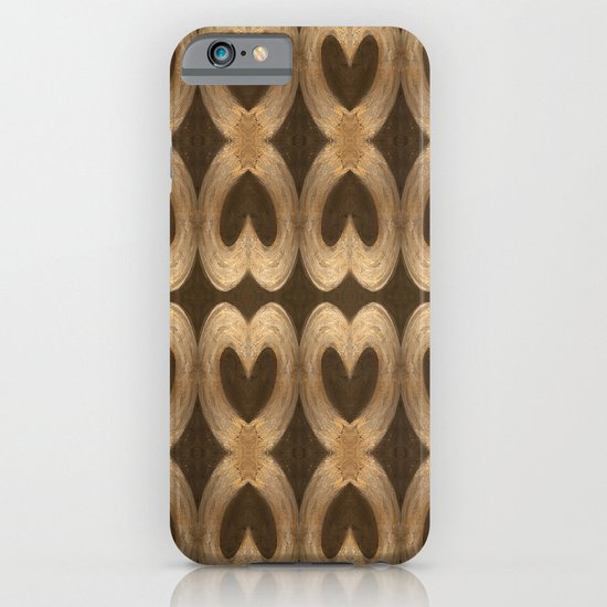 Burleniya hearts (alternative version) iPhone & iPod Case