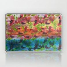 Colorful poppy pattern Laptop & iPad Skin