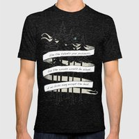 Use Your Talents Mens Fitted Tee Tri-Black SMALL