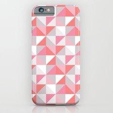 Peach Geometric; Slim Case iPhone 6s