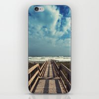 Beach Boardwalk iPhone & iPod Skin