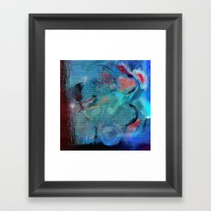 Dinnerparty Abstract Framed Art Print