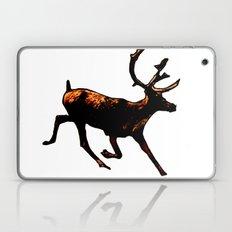 The Mighty Moose Mongoose Reindeer Elk Rentier Caribou Laptop & iPad Skin