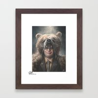 Dwight Schrute Framed Art Print