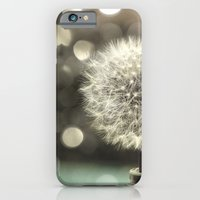 iPhone & iPod Case featuring Dandelion in a Jar by V. Sanderson / Chickens in the Trees
