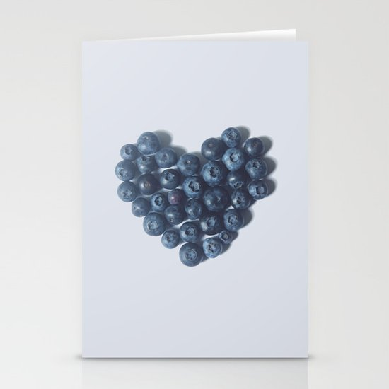 Blueberry Love Stationery Card