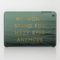 Hazy Eyes iPad Case