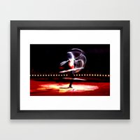Spinner Framed Art Print