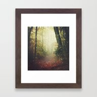 Forest Of Miracles And W… Framed Art Print