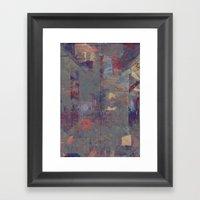 Sextet (disquiet One) Framed Art Print
