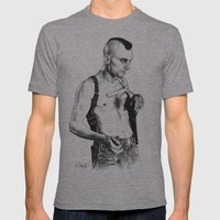 Taxi Driver Robert De Ni… Mens Fitted Tee Athletic Grey SMALL