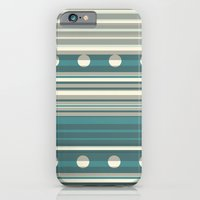 Grey and Blue iPhone 6 Slim Case