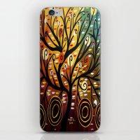 Abstract Tree-9 iPhone & iPod Skin