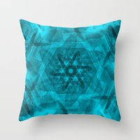 History In A Spin Throw Pillow