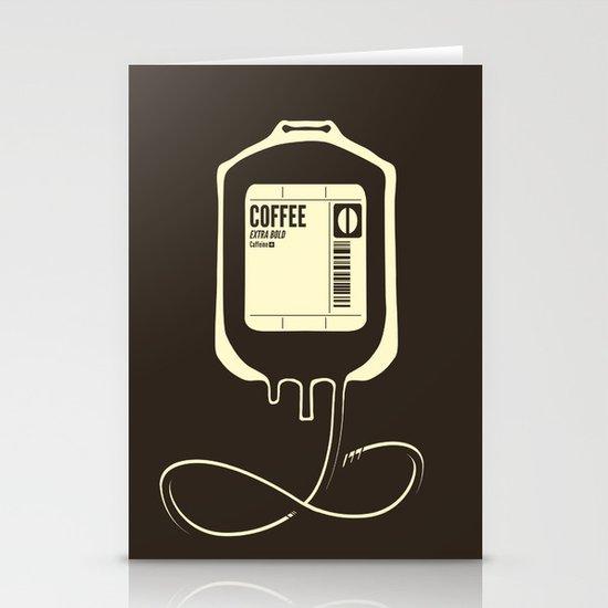 Coffee Transfusion Stationery Card