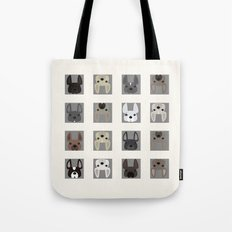 Squared Different French… Tote Bag