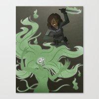 Spirit Stabbing Canvas Print