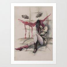 Harley Art Print