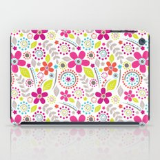 Inky Floral iPad Case