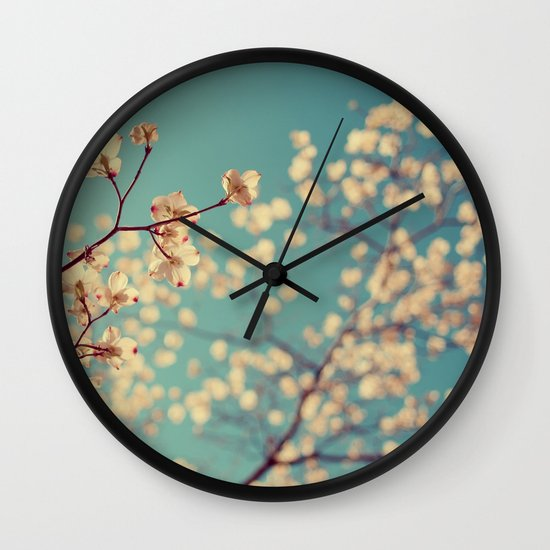 Tuesday Blues Wall Clock