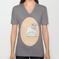 british muffin Unisex V-Neck