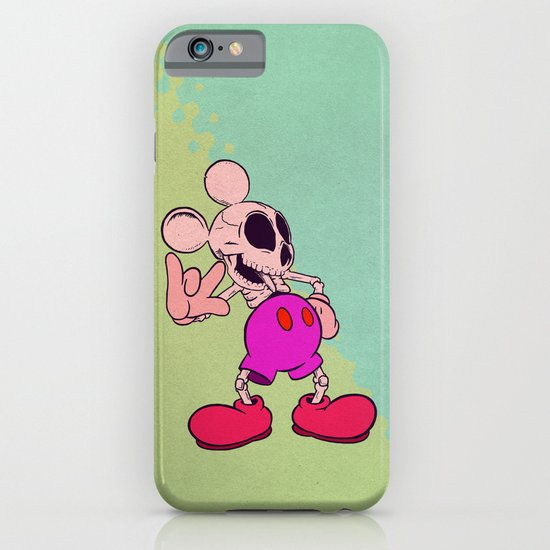 Mouse Skeleton iPhone & iPod Case