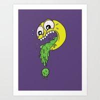 Barf? Art Print