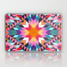 Triangles 2 abstract tribal pattern Laptop & iPad Skin