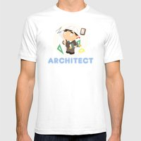 Architect Mens Fitted Tee White SMALL