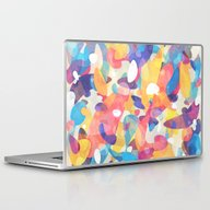 Laptop & iPad Skin featuring Chaotic Construction by Tracie Andrews