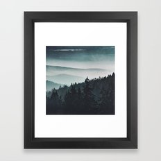 Mountain Light Framed Art Print
