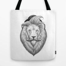 bearded lion Tote Bag