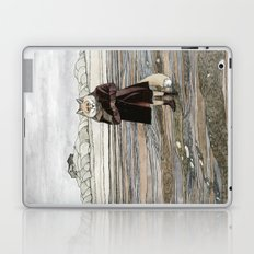 Fox in Sand Dunes Laptop & iPad Skin