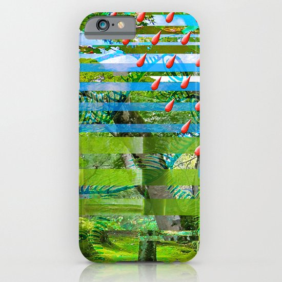 Landscape of My Heart (segment 2) iPhone & iPod Case
