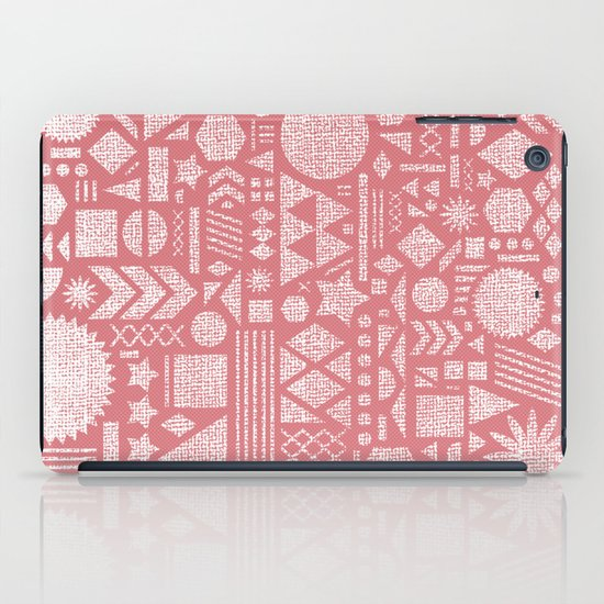 Modern Elements with Bubble Gum. iPad Case