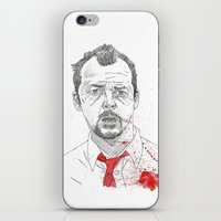 Shaun Of The Dead iPhone & iPod Skin