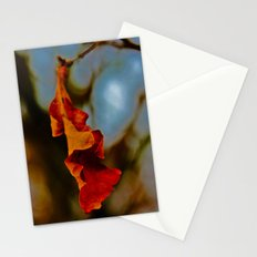 The last leaf standing... Stationery Cards